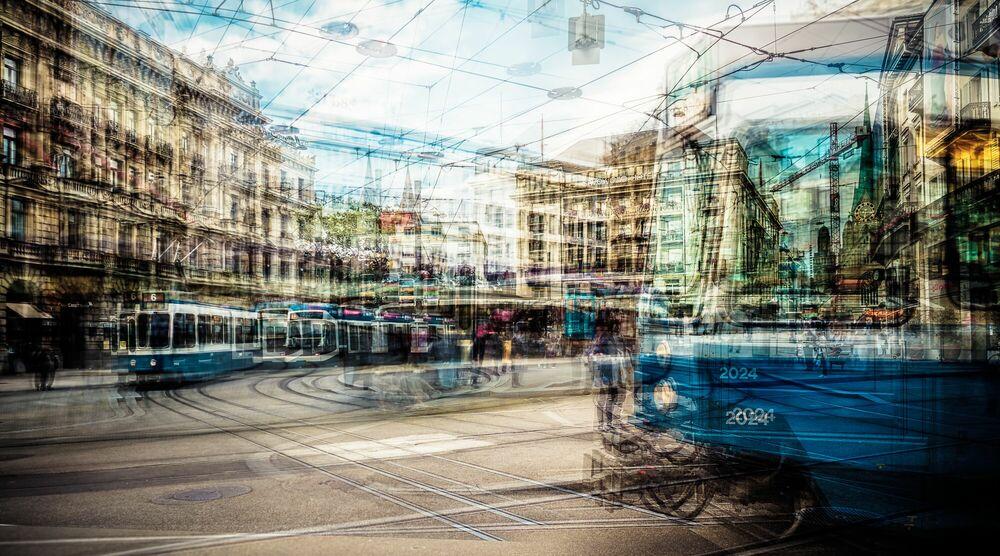 Fotografie ZH PARADEPLATZ I - LAURENT DEQUICK - Bildermalerei
