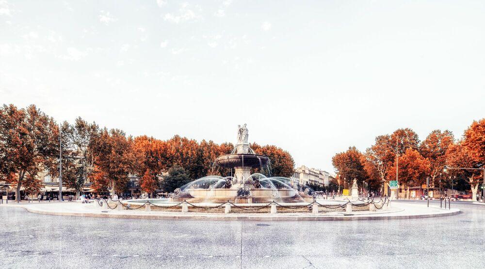Photograph AIX-LA ROTONDE I -  LDKPHOTO - Picture painting