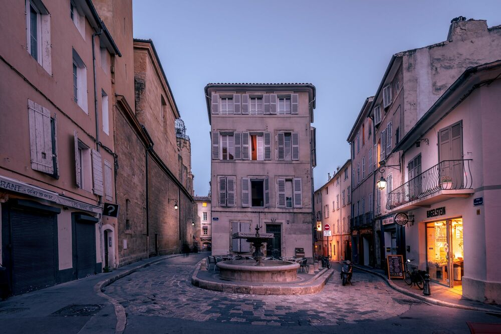 Photograph AIX-PLACE SERAPHIN GILLY -  LDKPHOTO - Picture painting