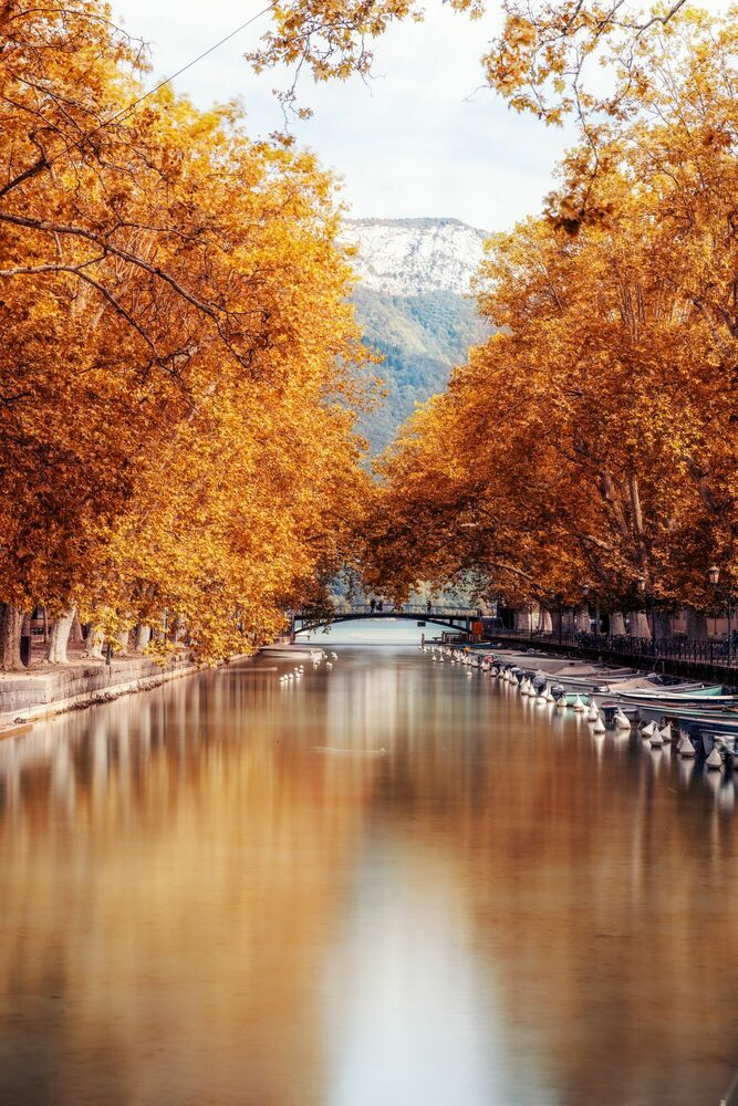Photograph ANNECY-CANAL DU VASSE I -  LDKPHOTO - Picture painting