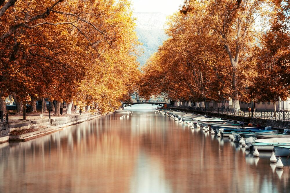 Photograph ANNECY-CANAL DU VASSE II -  LDKPHOTO - Picture painting
