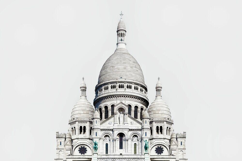Fotografie BASILIQUE DU SACRÉ-CŒUR DE MONTMARTRE -  LDKPHOTO - Bildermalerei