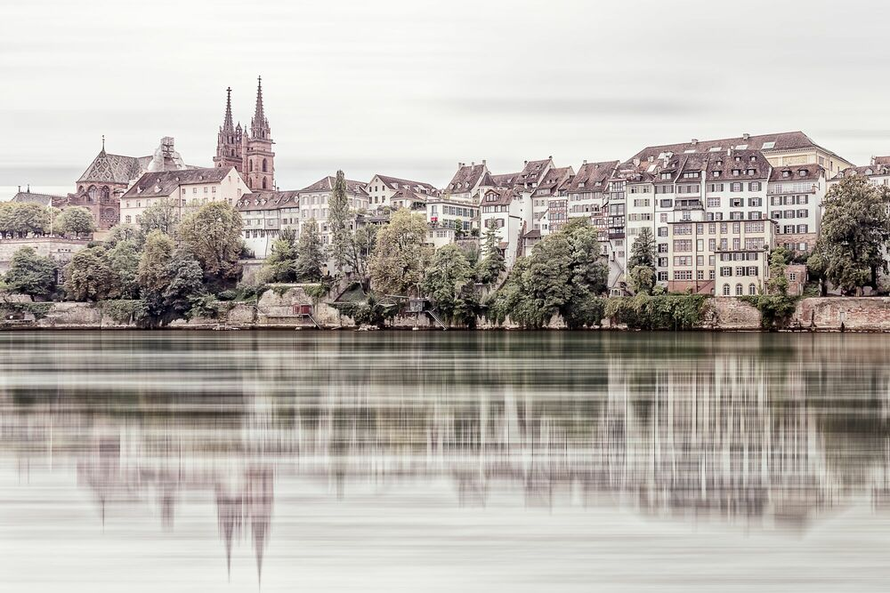 Photograph BASLER GELASSENHEIT -  LDKPHOTO - Picture painting
