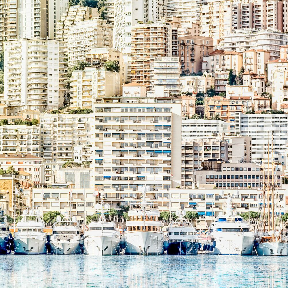 Photograph BOATS AND FLATS -  LDKPHOTO - Picture painting