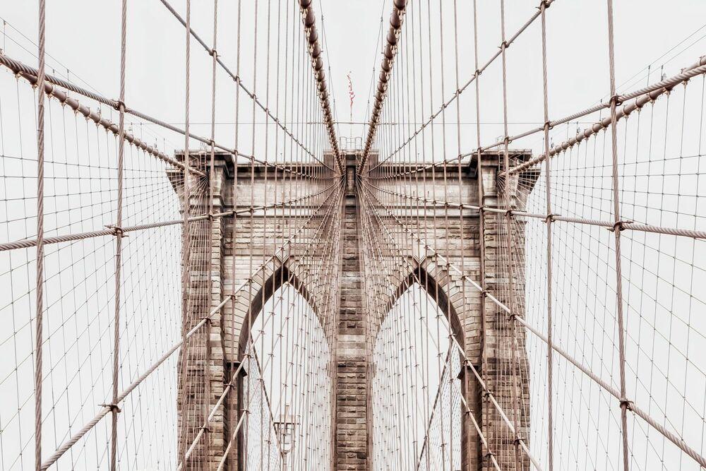Photographie BROOKLYN BRIDGE NETTING -  LDKPHOTO - Tableau photo