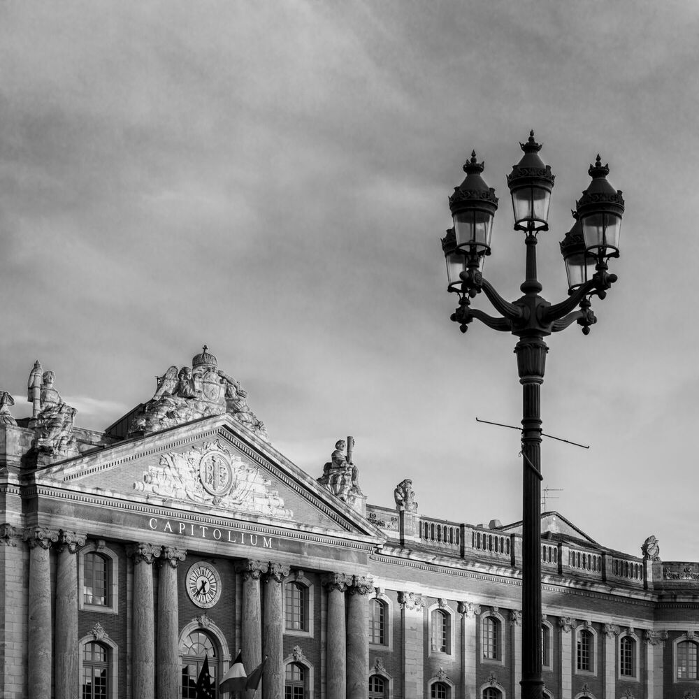 Photograph CAPITOLE III NB -  LDKPHOTO - Picture painting