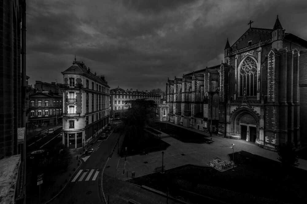 Photograph CATHEDRALE ST ETIENNE NB -  LDKPHOTO - Picture painting