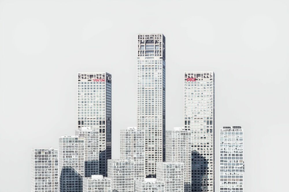 Fotografia CBD BEIJING -  LDKPHOTO - Pittura di immagini