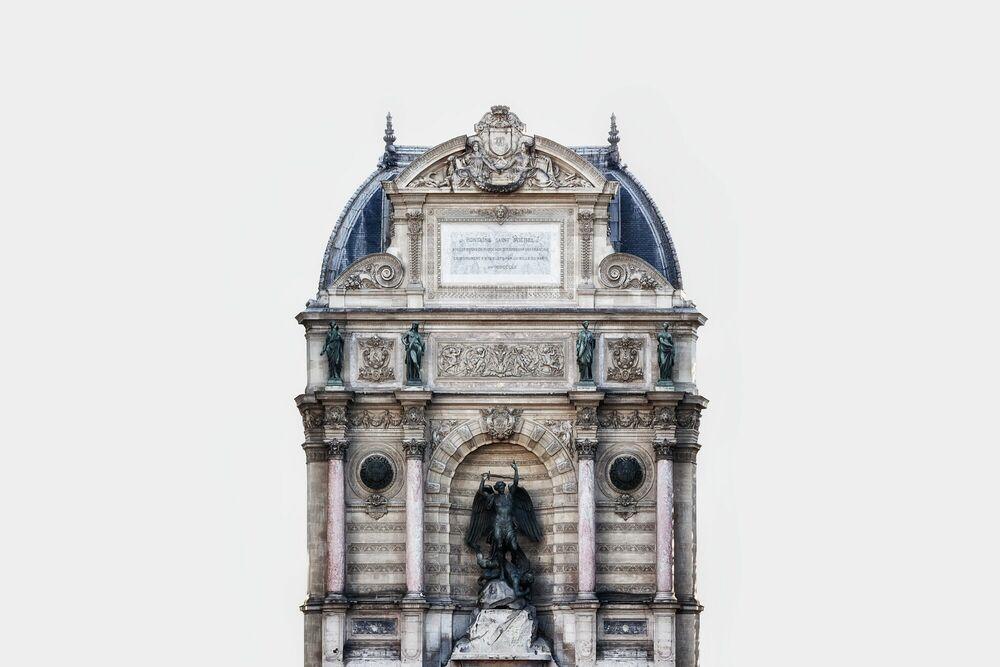 Fotografie FONTAINE SAINT MICHEL -  LDKPHOTO - Bildermalerei