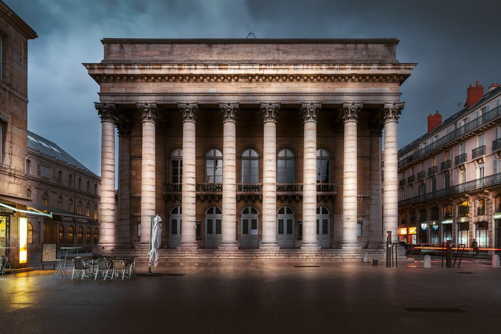 Photograph GRAND THEATRE -  LDKPHOTO - Picture painting