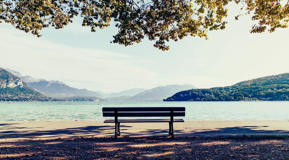 Photograph LAC D ANNECY II -  LDKPHOTO - Picture painting