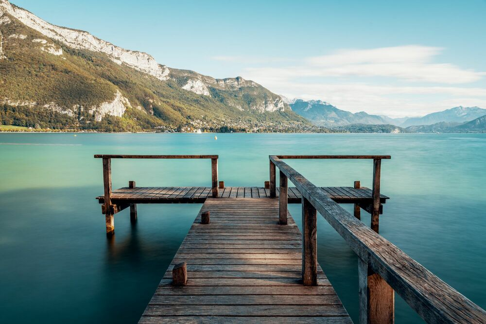 Photograph LAC D ANNECY III -  LDKPHOTO - Picture painting