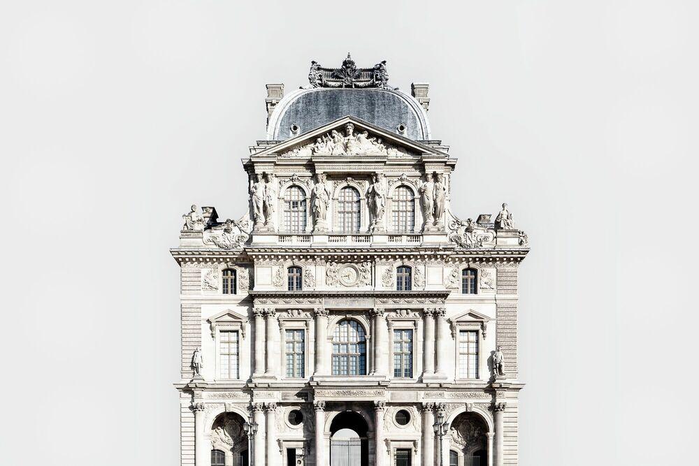 Fotografia LE PAVILLON DE L'HORLOGE - PALAIS DU LOUVRE -  LDKPHOTO - Pittura di immagini