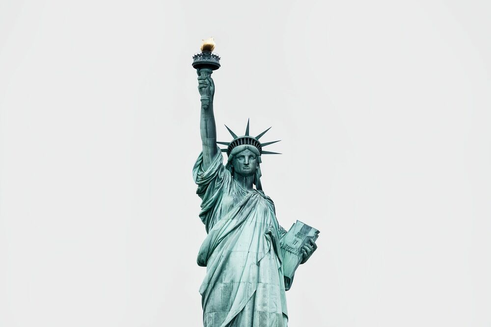 Photograph LIBERTY ENLIGHTENING THE WORLD -  LDKPHOTO - Picture painting