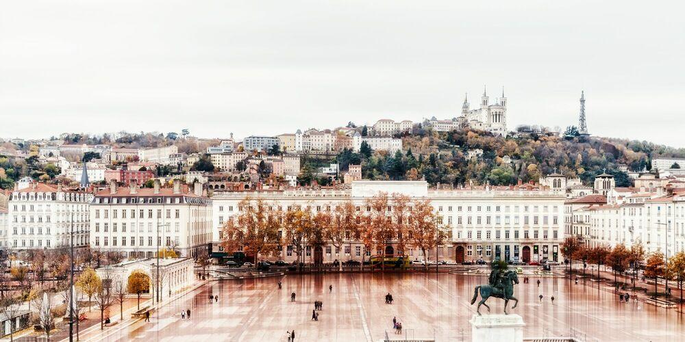 Photograph Lyon Place Bellecour -  LDKPHOTO - Picture painting