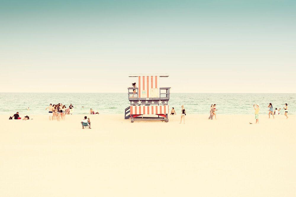 Miami Beach Liuard Stand I Ldkphoto