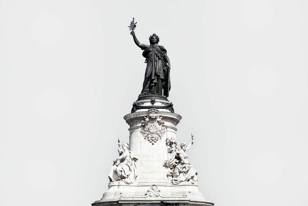 Fotografia MONUMENT À LA RÉPUBLIQUE -  LDKPHOTO - Pittura di immagini
