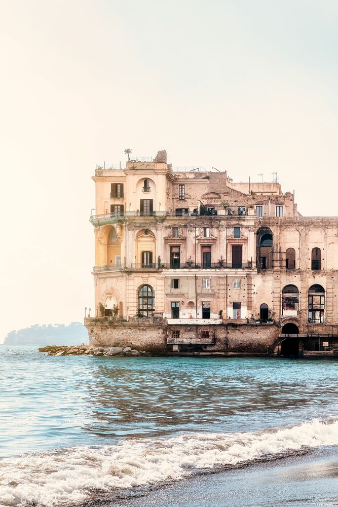 Photograph NAPOLI-PALAZZO DONN ANNA -  LDKPHOTO - Picture painting
