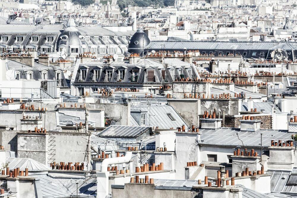 Photographie PARIS - DE CHEMINEES EN CHEMINEES -  LDKPHOTO - Tableau photo