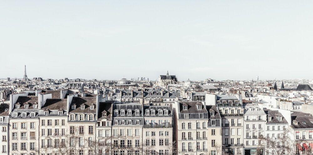 Fotografia PARIS - DE TOITS EN TOITS -  LDKPHOTO - Pittura di immagini
