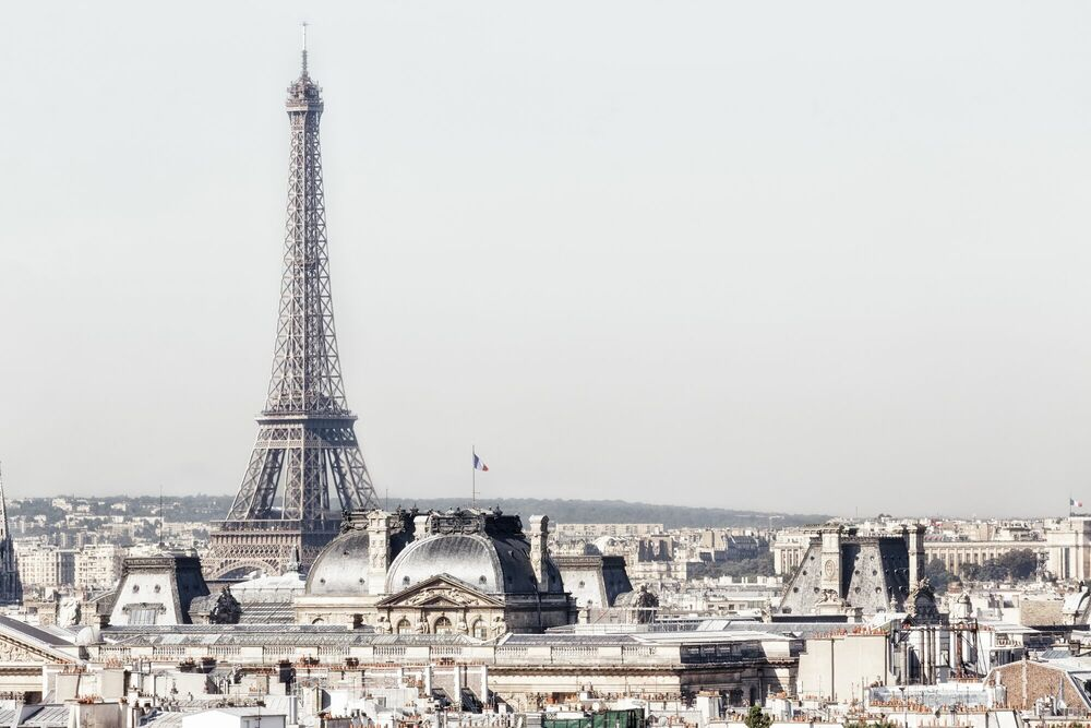 Fotografia PARIS - TU ME FAIS DE L EIFFEL -  LDKPHOTO - Pittura di immagini