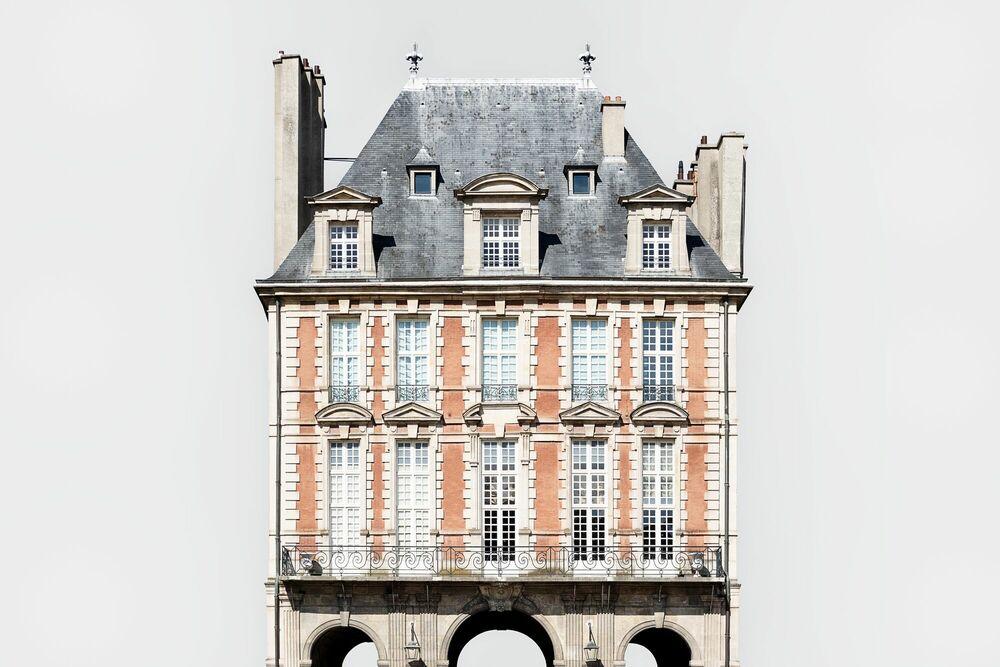 Photographie PAVILLON DE LA REINE - PLACE DES VOSGES -  LDKPHOTO - Tableau photo
