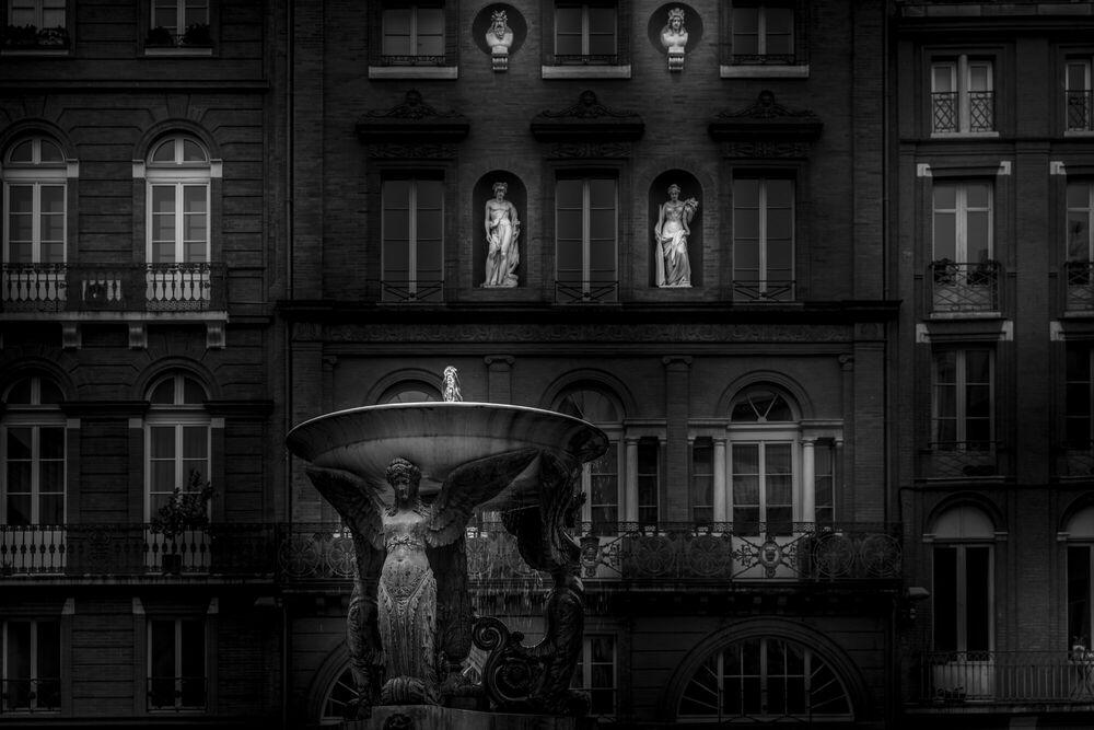 Photograph PLACE DE LA TRINITE -  LDKPHOTO - Picture painting