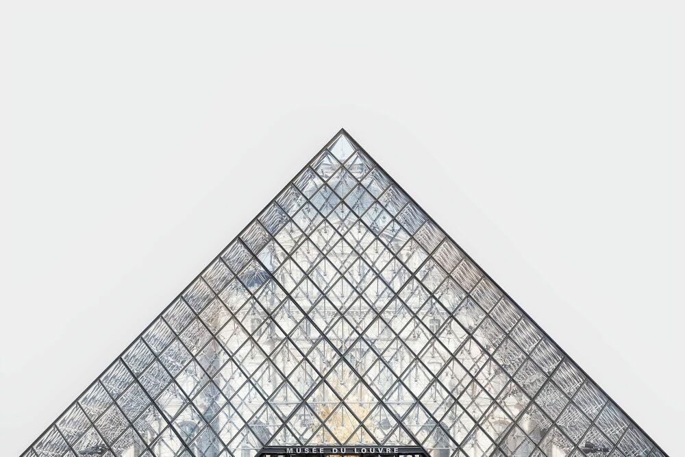 Photographie PYRAMIDE - PALAIS DU LOUVRE -  LDKPHOTO - Tableau photo