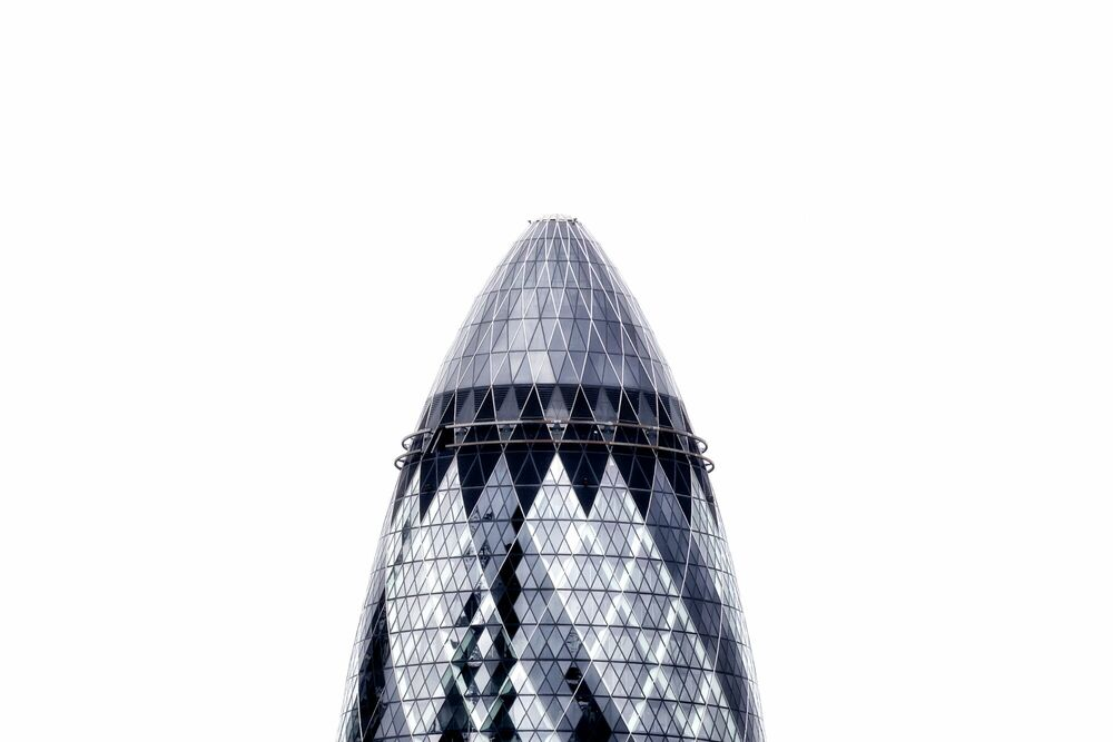 Photograph THE GHERKIN -  LDKPHOTO - Picture painting