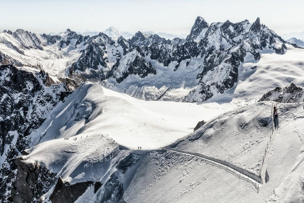 Photograph VALLEE BLANCHE -  LDKPHOTO - Picture painting