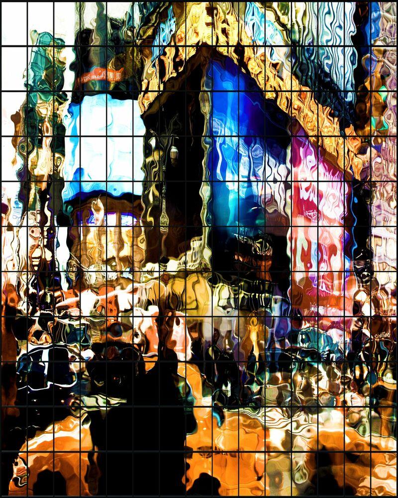 Fotografie WAVE ECHOES II -  LDKPHOTO - Bildermalerei