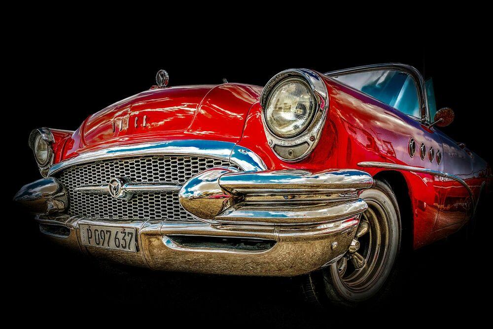 Fotografie Cuba's car - Buick Special 1955 - LORENZO MITTIGA - Bildermalerei