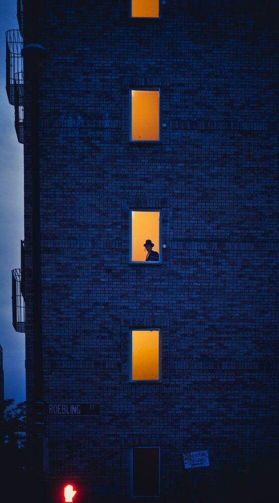 Fotografia HASIDIC JEW - LUC KORDAS - Pittura di immagini
