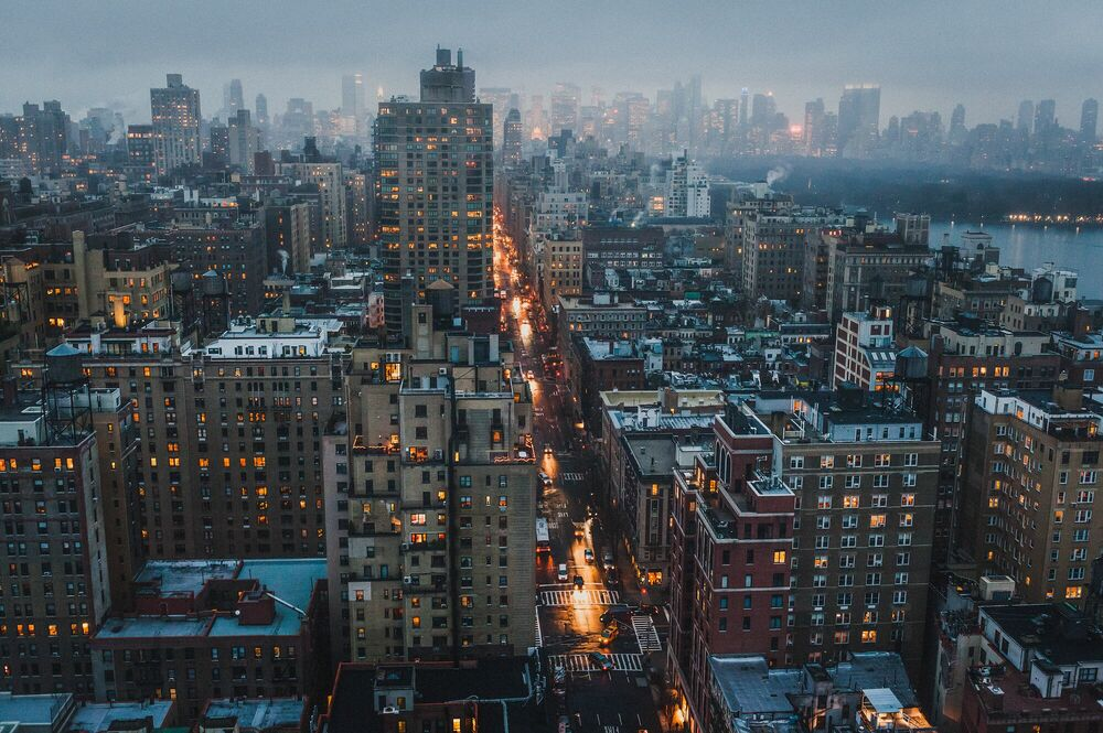 Photograph UPTOWN NEW YORK - LUC KORDAS - Picture painting