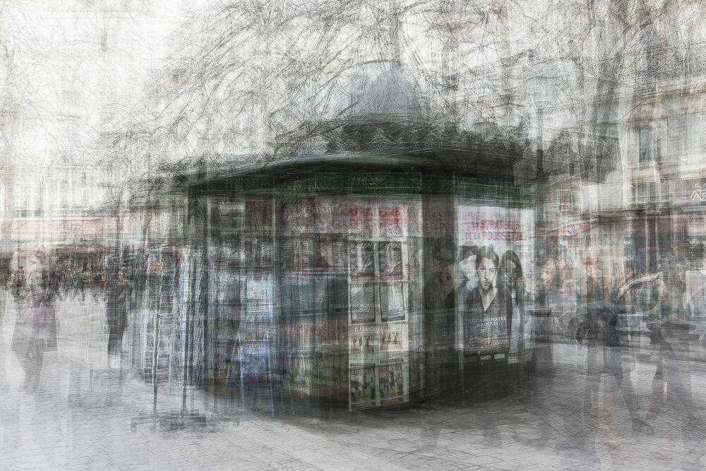 Fotografia Kiosque - LUC MARCIANO - Pittura di immagini
