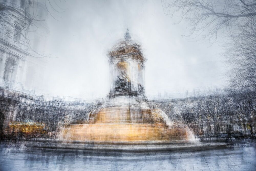 Fotografie St Sulpice - LUC MARCIANO - Bildermalerei