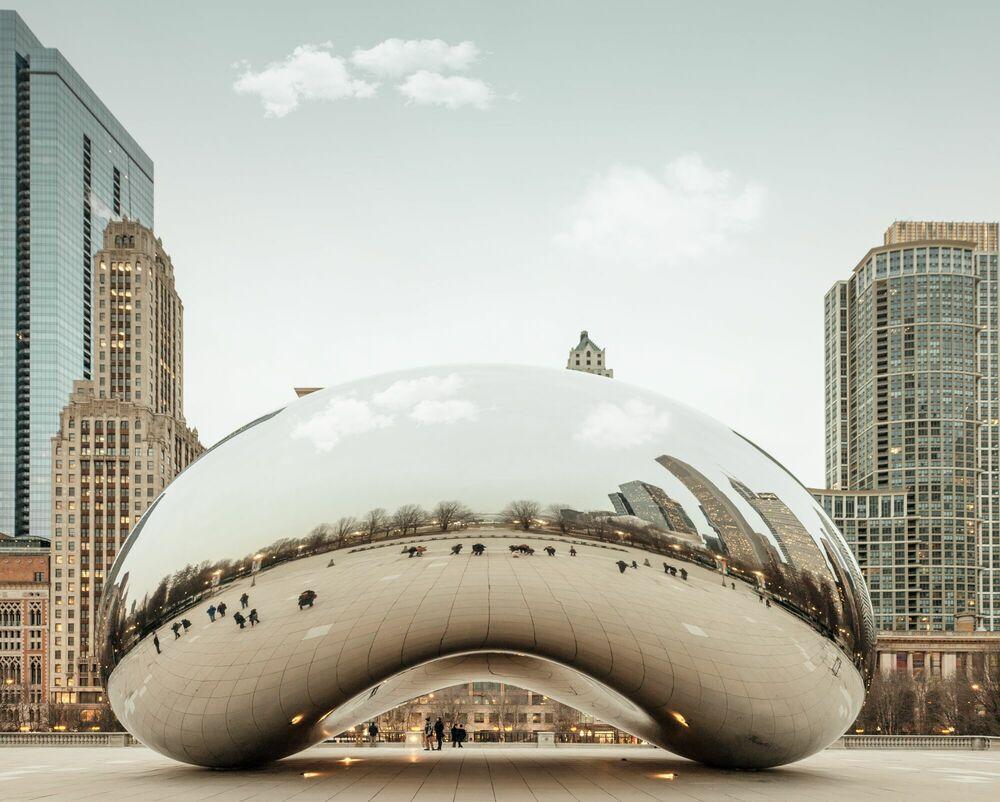 Fotografie BEAN CHICAGO - LUDWIG FAVRE - Bildermalerei