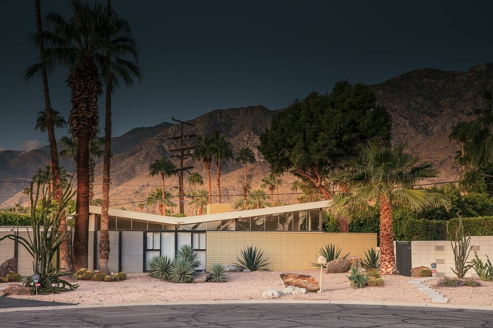 Photographie ICONIC PALM-SPRINGS - LUDWIG FAVRE - Tableau photo