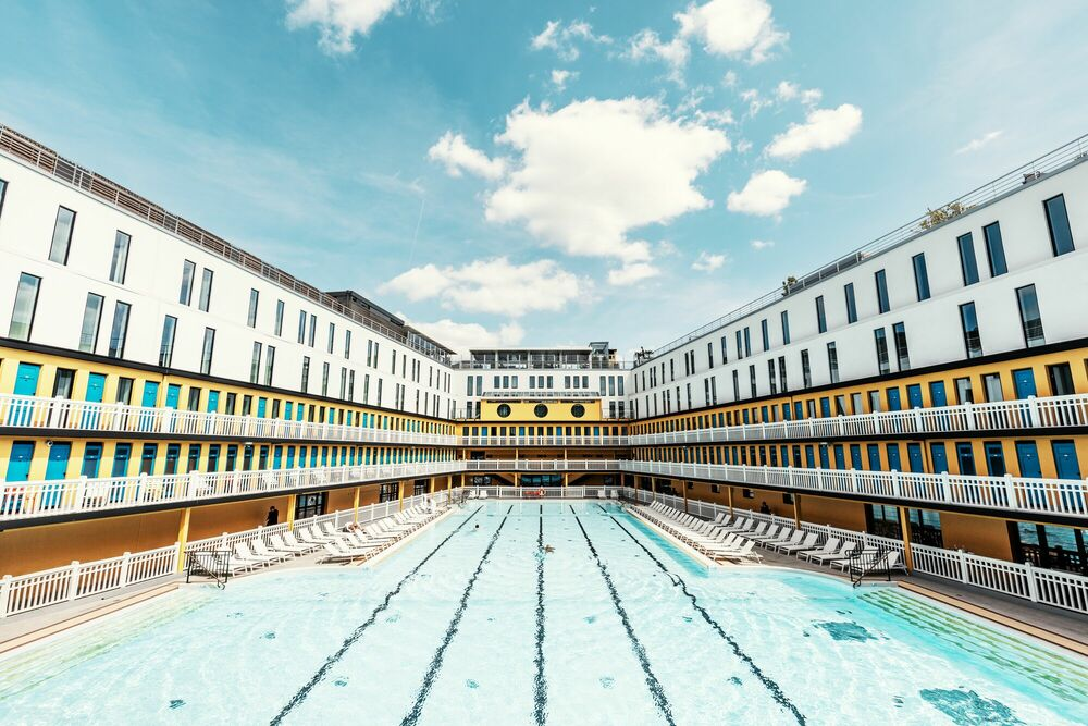 Photographie MOLITOR SWIMMING POOL - LUDWIG FAVRE - Tableau photo