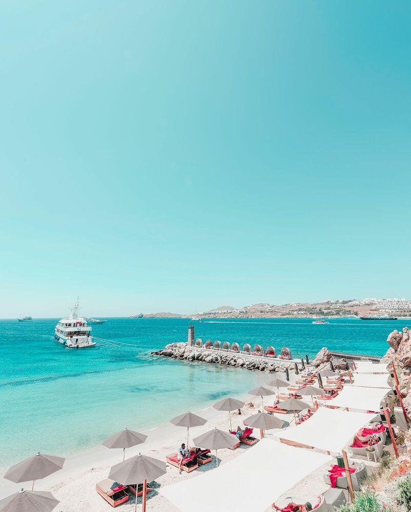 Fotografia MYKONOS BUDDHA BEACH - LUDWIG FAVRE - Pittura di immagini