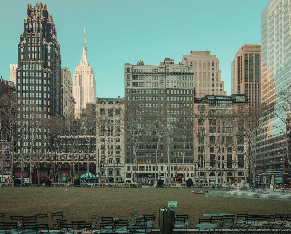 Fotografie NEW YORK GARDEN - LUDWIG FAVRE - Bildermalerei