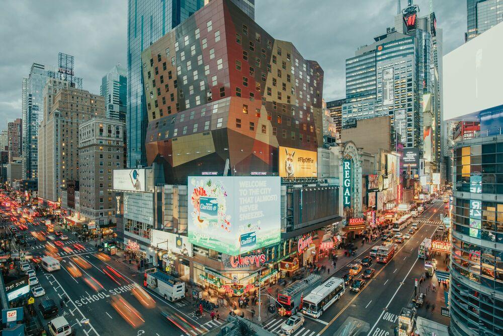 Fotografie NEW YORK NIGHT LIFE - LUDWIG FAVRE - Bildermalerei