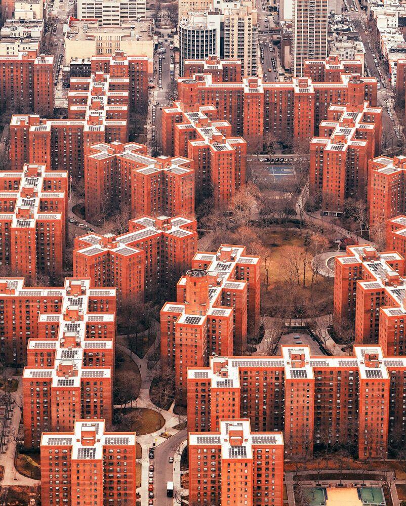 Photographie NEW YORK TETRIS - LUDWIG FAVRE - Tableau photo