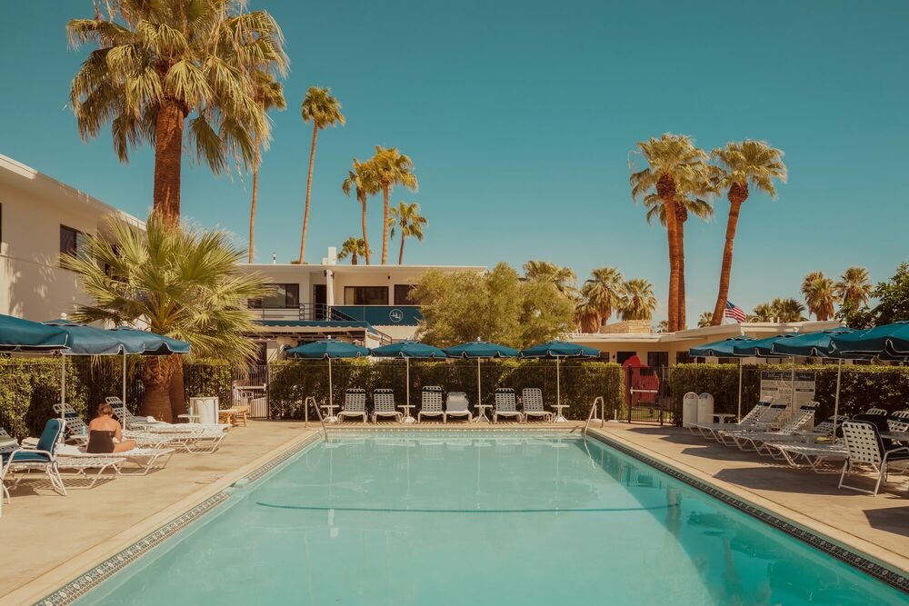 Photographie Palm Springs desert Pool - LUDWIG FAVRE - Tableau photo
