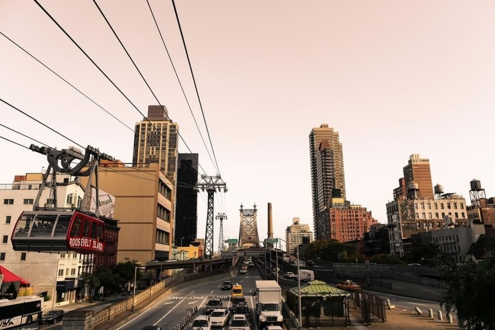 Photographie Roosevelt Island Tramway - LUDWIG FAVRE - Tableau photo