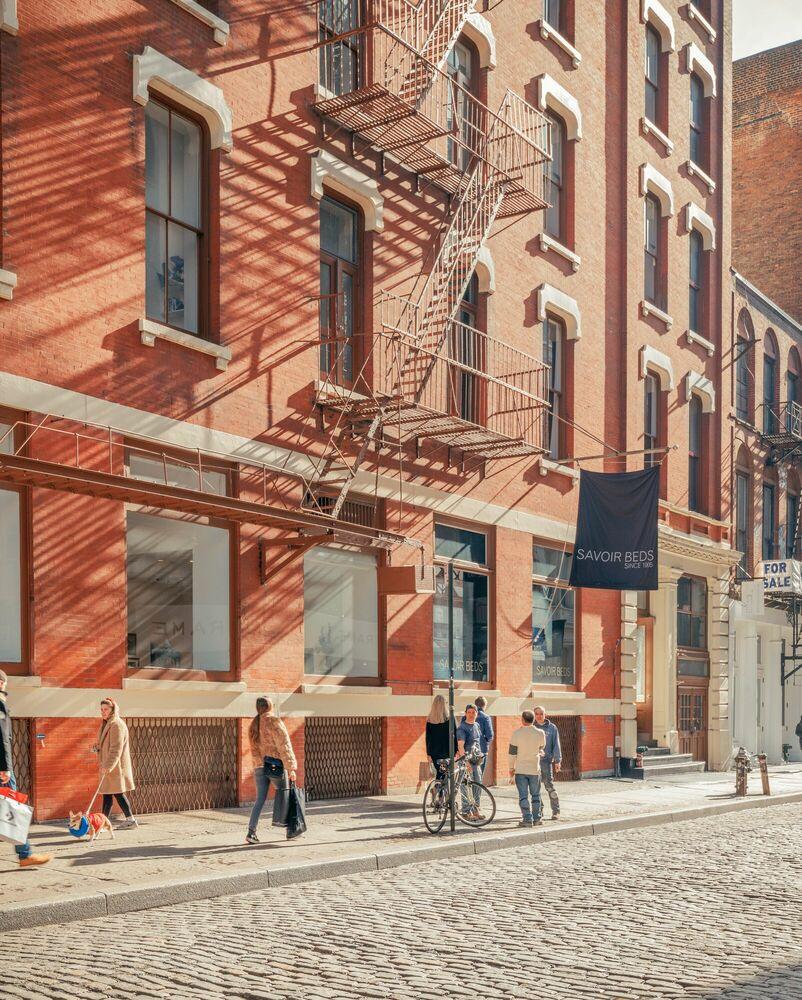 Fotografie SOHO NYC - LUDWIG FAVRE - Bildermalerei