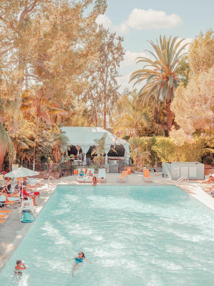 Photographie Sportsmen's Lodge Los Angeles - LUDWIG FAVRE - Tableau photo