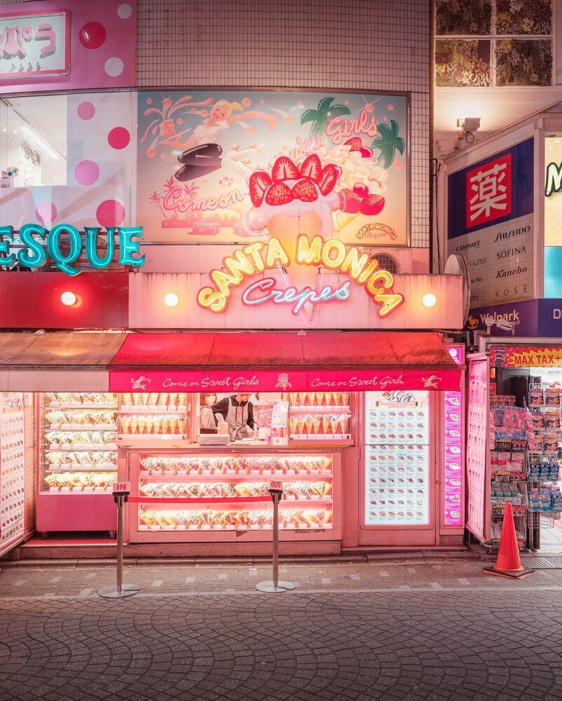 Fotografie TOKYO SANTA MONICA - LUDWIG FAVRE - Bildermalerei