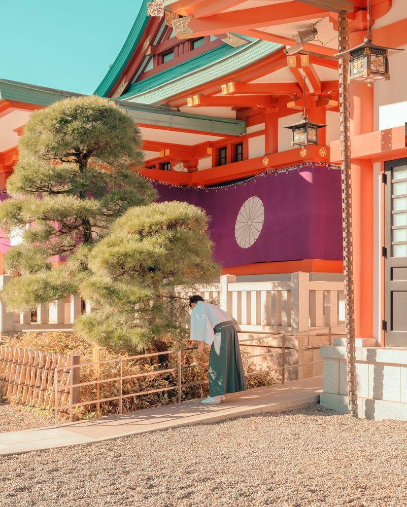 Photographie TOKYO SHRINE - LUDWIG FAVRE - Tableau photo
