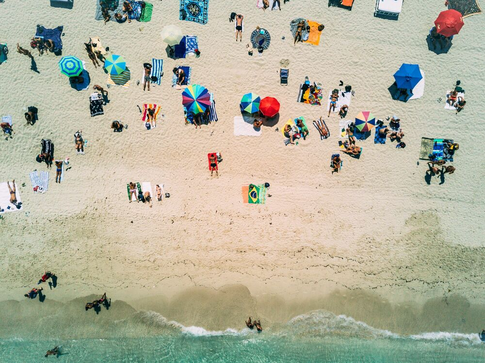 Fotografie SOUTH BEACH - LUIS AGUILERA - Bildermalerei